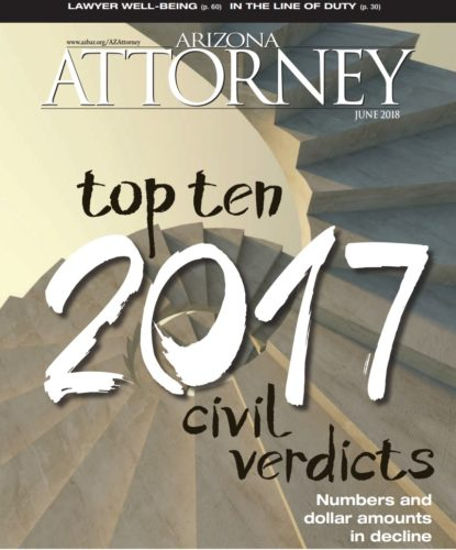 Arizona Attorney Top Ten Civil Verdicts 2017